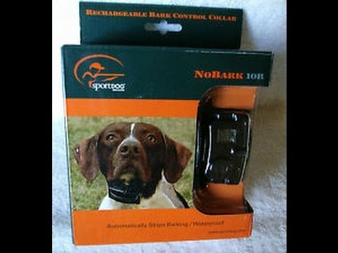 SportDOG Rechargeable NoBark 10R Bark Control Collar - #1 BEST SELLER