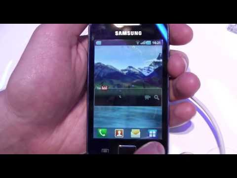 Samsung Galaxy Ace, hands on at MWC 2011 - Test-Mobile.fr