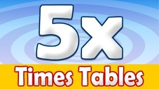 5 x Times Table Math Song - YouTube