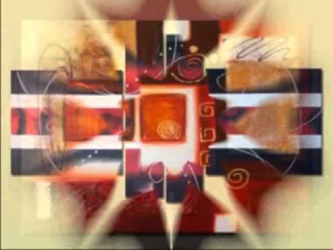 cuadros modernos - cuadros abstractos - cuadros pintados a mano