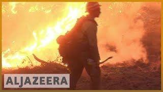 🇺🇸California wildfires death toll at 42, more than 200 missing l Al Jazeera English - ALJAZEERAENGLISH