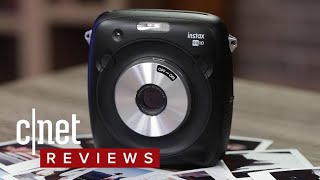 Fujifilm Instax Square SQ10 hands-on review - CNETTV