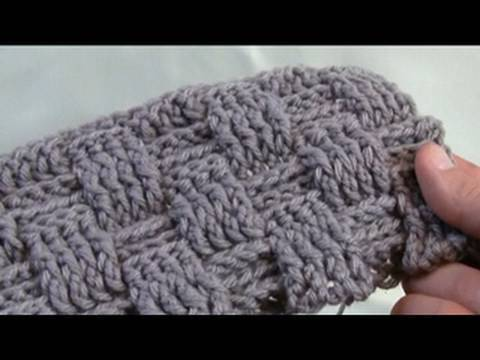 How To Crochet A Basket Weave Stitch - LH