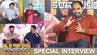Krish Interviews NTR Kathanayakudu Movie Team   Balakrishna   Kalyan Ram   Vidya Balan   Sumanth - TFPC