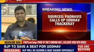 Amit Shah to keep one Chair vacant for Uddhav Thackeray - NEWSXLIVE