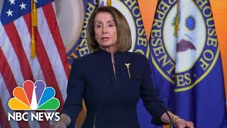 Nancy Pelosi: President Donald Trump Has Declared National Emergency 'On An Illusion' | NBC News - NBCNEWS