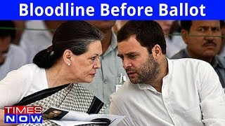 The Clearest Message Yet |  Bloodline Before Ballot Box - India Upfront With Rahul Shivshankar - TIMESNOWONLINE
