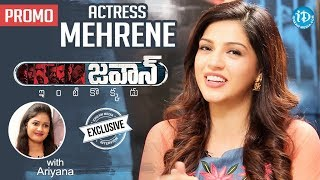 Jawaan Actress Mehreen Exclusive Interview - Promo || Talking Movies With iDream - IDREAMMOVIES