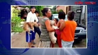 video : मेक्सिको में फिर भूकंप के तेज झटके