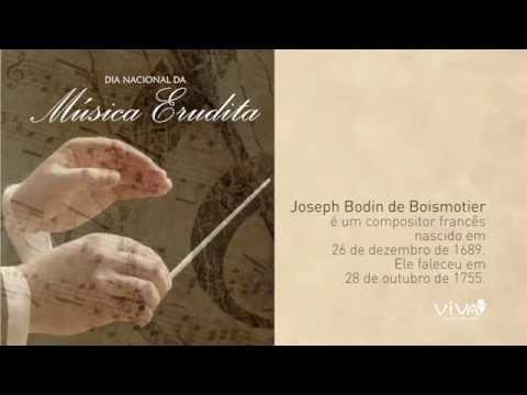 Dia Nacional da Música Erudita - Concerto em Lá Maior de Joseph Bodin de Boismotier