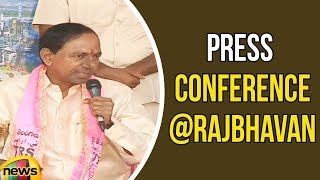CM KCR dissolves state Assembly And Calls for Early Elections | KCR Press Conference | Mango News - MANGONEWS