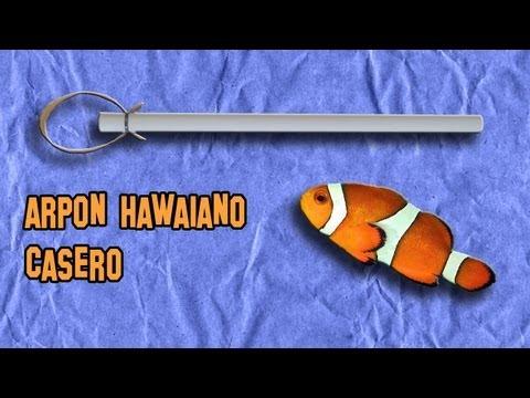 Como Hacer un Arpón Hawaiano | Armas Caseras Fáciles