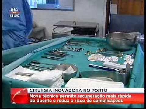 Cirurgia inovadora no Porto