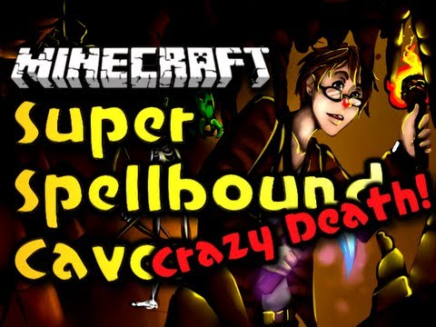 Minecraft Super Spellbound Caves BONUS - Craziest Death! (HD)