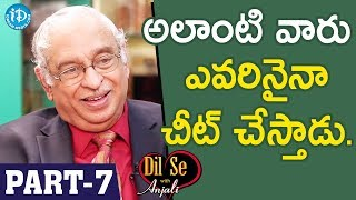 Global Hospitals Director Dr KS Ratnakar Interview - Part #7 || Dil Se With Anjali - IDREAMMOVIES