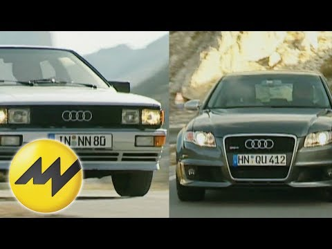 Audi Quattro vs. MTM Audi RS4