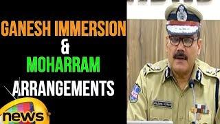 Ganesh Idols Immersion & Moharram Arrangements |  Sri Anjani Kumar, IPS, CP Hyderabad - MANGONEWS