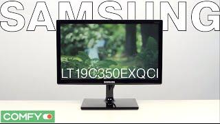Samsung LT19C350EXQCI - телевизор с встроенным медиаплеером - Видеодемонстрация от Comfy