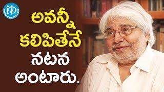 అవన్నీ కలిపితేనే నటన అంటారు - Actor Devadas Kanakala || Soap Stars With Harshini - IDREAMMOVIES