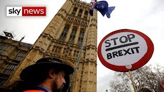 Commons debates PM's Brexit deal ahead of vote - SKYNEWS