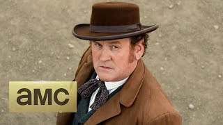 On Set With Colm Meaney: Playing a Historical Character: Hell on Wheels - AMC
