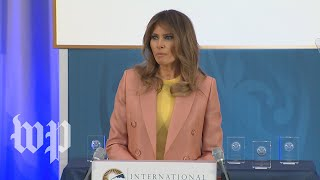 Melania Trump honors women award winners at State Department - WASHINGTONPOST