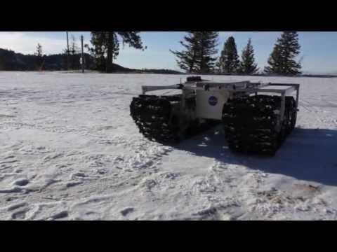 GROVER - gąsienicowy robot NASA