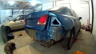 Хонда Сивик ремонт кузова в Нижнем Новгороде Honda Civic Auto body repair