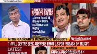 DMK: Gadkari's personel security must be questions - NEWSXLIVE