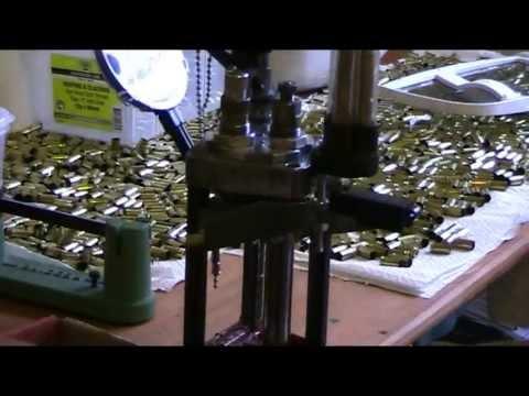 Lee Pro 1000 9mm bullet making