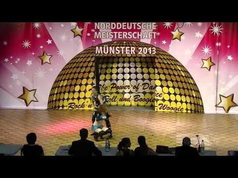 Janique Steiner & Jascha Steiner - Norddeutsche Meisterschaft 2013