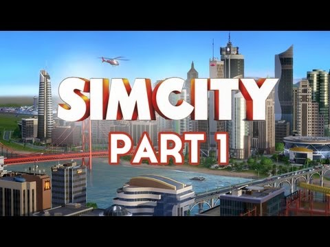 Sim City Walkthrough Part 1 - New London [Full Game] Let's Play Commentary (SimCity 5 2013)