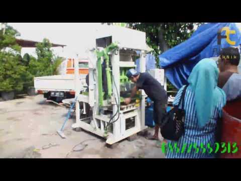 Mesin Cetak Paving Hidrolik