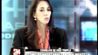 Inés Temple en 24 Horas