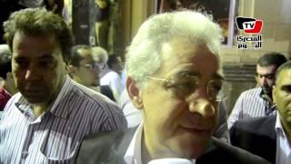 صباحي بعزاء سيف الإسلام: الحريات التي طالب بها يدفع أولاده ثمن غيابها (فيديو) | المصري اليوم