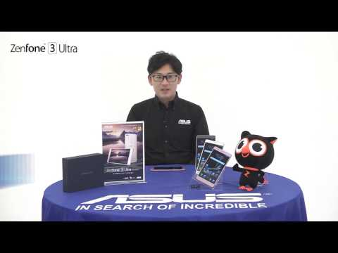EC動画制作実績:ZenFone™ 3 Ultra (ZU680KL)製品紹介映像