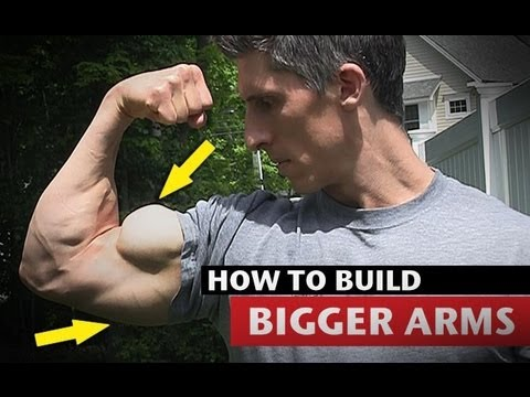How to Get Big Arms - MUCH FASTER!! (Triceps and Biceps)