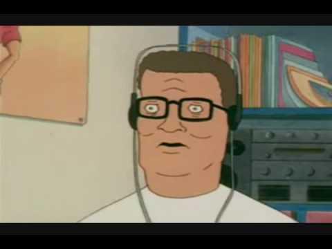 Hank Hill Listens to X