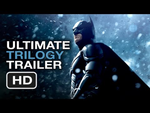 The Dark Knight Rises Ultimate Trilogy Trailer - Christopher Nolan Batman Legacy HD