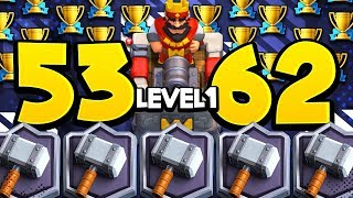 Lvl 1 Gets 5,362 TROPHIES! World Record SHATTERED vs LvL 13!