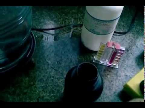 Água alcalina com bicarbonato de sódio e cloreto de magnésio
