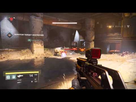 Eddy Punches Crap in Destiny