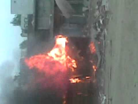 Hazro fire in Meena Bazar from ZAKIR nartopa