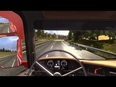 Wit stuur in Euro Truck Simulator 2