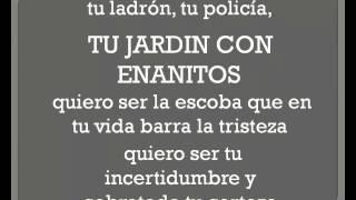 TU JARDIN CON ENANITOS - MELENDI (con letra) - YouTube