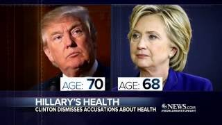 Hillary Clinton Defends Her Health - ABCNEWS
