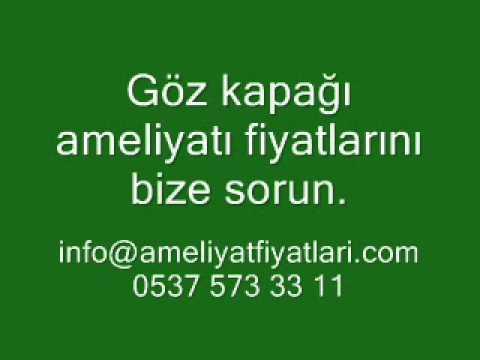 Göz Kapağı Ameliyatı Fiyatları, www.ameliyatfiyatlari.com