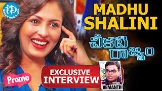 Madhu Shalini Exclusive Interview - Promo || Talking Movies with iDream - IDREAMMOVIES