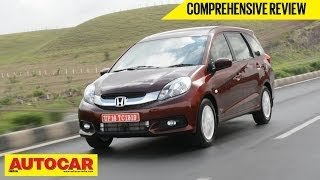 2014 Honda Mobilio MPV | India Drive Video Review | Autocar India