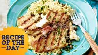 Recipe of the Day: Bobby Flay's 5-Star Grilled Tilapia | Food Network - FOODNETWORKTV